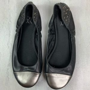 New York & company flats women's size 6